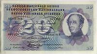 SUISSE - 20 FRANCS (1971) SERIE 78 R - Billet de banque // TTB (N°001139)