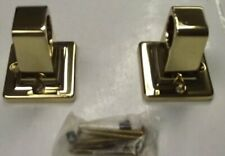 "Taymor 05-Rpb1024P Polished Brass Towel Bar Grab Bar Posts 7/8"" Posts Only"