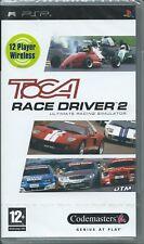 NEW+FACTORY SEALED=TOCA RACE DRIVER 2 TWO-ORIGINAL PSP UMD GAME UK
