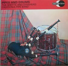 THE SHOTTS AND DYKEHEAD CALEDONIA PIPI BAND - PIPES AND DRUMS - LP