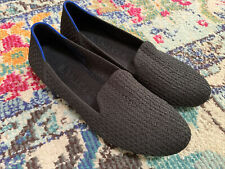 Womens ROTHY'S The Loafer  Size 9 Black Honeycomb
