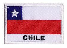 Patch écusson patche drapeau CHILI Chile 70 x 45 mm coudre brodé