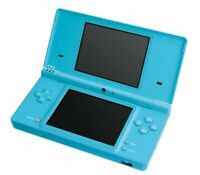 Nintendo DSi Console - Blue (Light Blue) with Stylus and Charger Good Condition