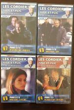 LES CORDIER JUGE ET FLIC saison 1 et 2. Lot 4 DVD. Très bon état