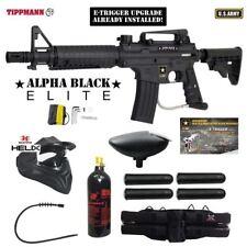 Tippmann U.S. Army Alpha Black Elite w/ E-Grip Thermal Paintball Package