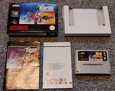 Super Star Wars El Imperio Contraataca-Super Nintendo Juego (SNES) (en Caja)