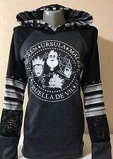 DiY Disney Villains Hoodie Evil Queen Ramones Rock Goth Regular or 1X Plus Size