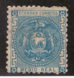 Ecuador,Scott#9,1/2r,MH