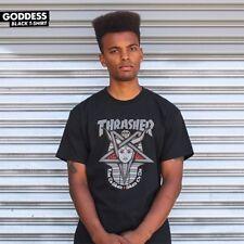 Thrasher Magazine Goddess Logo Skateboard Shirt Black Xl