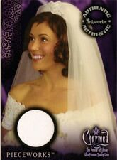 Charmed The Power of Three Costume Card PW-1 Phoebe Wedding Dress from Inkworks