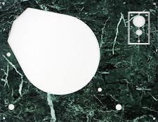 Deckplatte Platte face plate für Thorens TD 145 146 147 160 165 166 Marmor grün