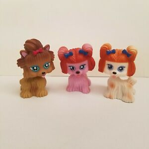 My Pet Pals Chic Dolls Boutique Dog Lot of 3 Animal Figures 2008