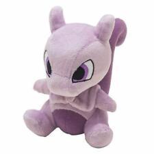 "Mewtwo 6"" Pokemon Pocket Monster Plush Toy Soft Animal Stuffed Doll High Quality"