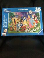 DISNEY-princesses And Characters  125 piece giant jigsaw puzzle RAVENSBURGER