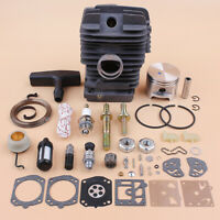47mm Cylinder Piston Repair Kit For Stihl MS290 029 Big Bore MS390 039 Chainsaw