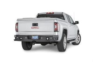 Warn Ascent Rear Bumper For 14-16 Silverado/Sierra 1500/2500/3500 #96550
