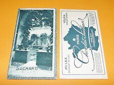 CHROMO PHOTO CHOCOLAT SUCHARD 1928 FRANCE ABBAYE DE TALLOIRES HAUTE SAVOIE 74