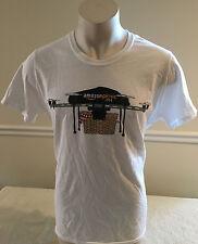 Amazon Company Picnic Drone White T-Shirt Picnic Basket 100% Cotton Women's XL
