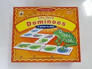 Frogs Life Cycle Dominoes - 3 Games To Play! New Sealed