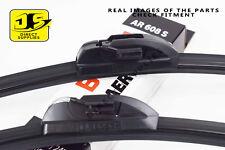 Jaguar X-Type Front Rear Windscreen Wiper Blade Set 2003-2009 Estate *BOSCH*