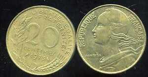 20 centimes 1973    marianne