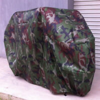 Motorcycle Waterproof Camouflage Rain Cover Motorbike Dust Proof XXL + Bag