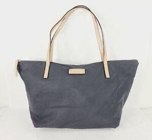 Kate Spade Purse Kennedy Park Nylon Sophie Tote Black Shoulder Bag USED