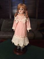 "Antique Kestner 154 Bisque Doll 22"" Germany Professional Vintage Accessories"