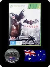 Batman: Arkham City (Xbox 360) VGC + MANUAL - FAST POST - ACTION - ADVENTURE