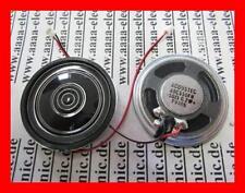 LAUTSPRECHER  50 Ohm 0,2 W  40 x 5 mm 40CS50FN-M50ND-7FA 2 Stück