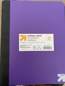 70 sheet Up & Up notebook