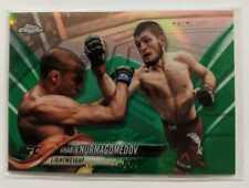 Khabib Nurmagomedov 2018 Topps Chrome Green /99 Rare Card Invest UFC Champion