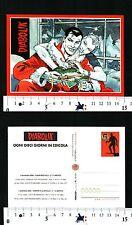 DIABOLIK - OGNI 10 GIORNI IN EDICOLA - CARTOLINA PUBBLICITARIA - 57044