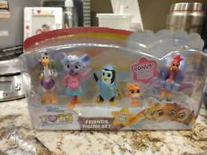 Disney Junior T.O.T.S. Friends Figure Set Toy 5 Figures NEW 🔥HARD TO FIND🔥