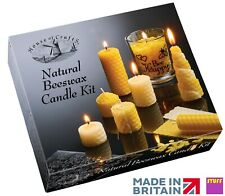 Natural Beeswax Candle Making Kit Make Your Own Craft Activity Educational Gift