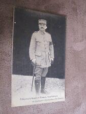 WW1 World War 1 - General Franchise d'Esperey - Commander of Allied Troops