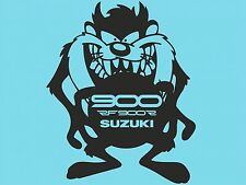 Taz Suzuki RF900 Ventana Adhesivo Pegatina De Coche Pegatina de Parachoques Trasero T50 DYI lateral del coche