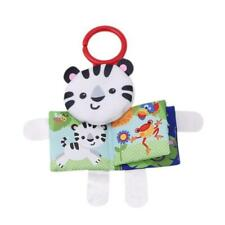 Newborn Baby Infant Cloth Learn Book Early Reading Educational Toy W/ Teether B
