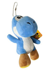 "Super Mario Yoshi Keychain 4.5"" Plush Toy (Blue)"