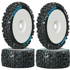 Duratrax DTXC3615 Lockup C2 Mounted Front / Rear Tires / Wheels (4) 1/8 Buggy