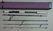 "BLACK FRIDAY STUNNING HIGH MODULUS CARBON 5 SEC TRAVEL LURE ROD 8' 6"" 80-120G"