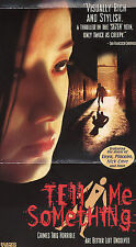Tell Me Something (VHS, 2002, English Subtitled) (Brand new sealed)