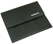 Nissan Book Pack Folder Handbook Holder Wallet Only New Genuine 9999900VOW