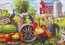 .PUZZLE.....JIGSAW.....FAULDER....Farm Life....500pc..