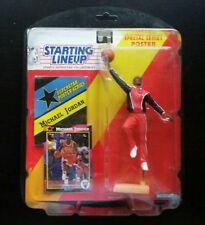 Starting Lineup MICHAEL JORDAN Chicago Bulls Warm-Up Figure 1992 SLU Mattel