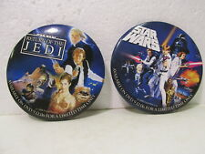 Star Wars 2006 Promotional Button Pin Set Of 2 pin3238