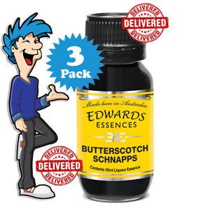 Butterscotch Schnapps Liqueur Essence By Edwards Essences x 3 Pack @ $33.99