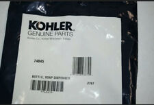 KOHLER Plastic Bottle for Sink Pump Soap Lotion Dispenser 74845 Sterling