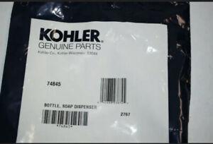 KOHLER Plastic Bottle for Sink Pump Soap Lotion Dispenser 74845 Sterling