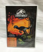 Jurassic World : 5-Movie Collection (DVD, 2018, 5-Disc Set) Brand New US Seller